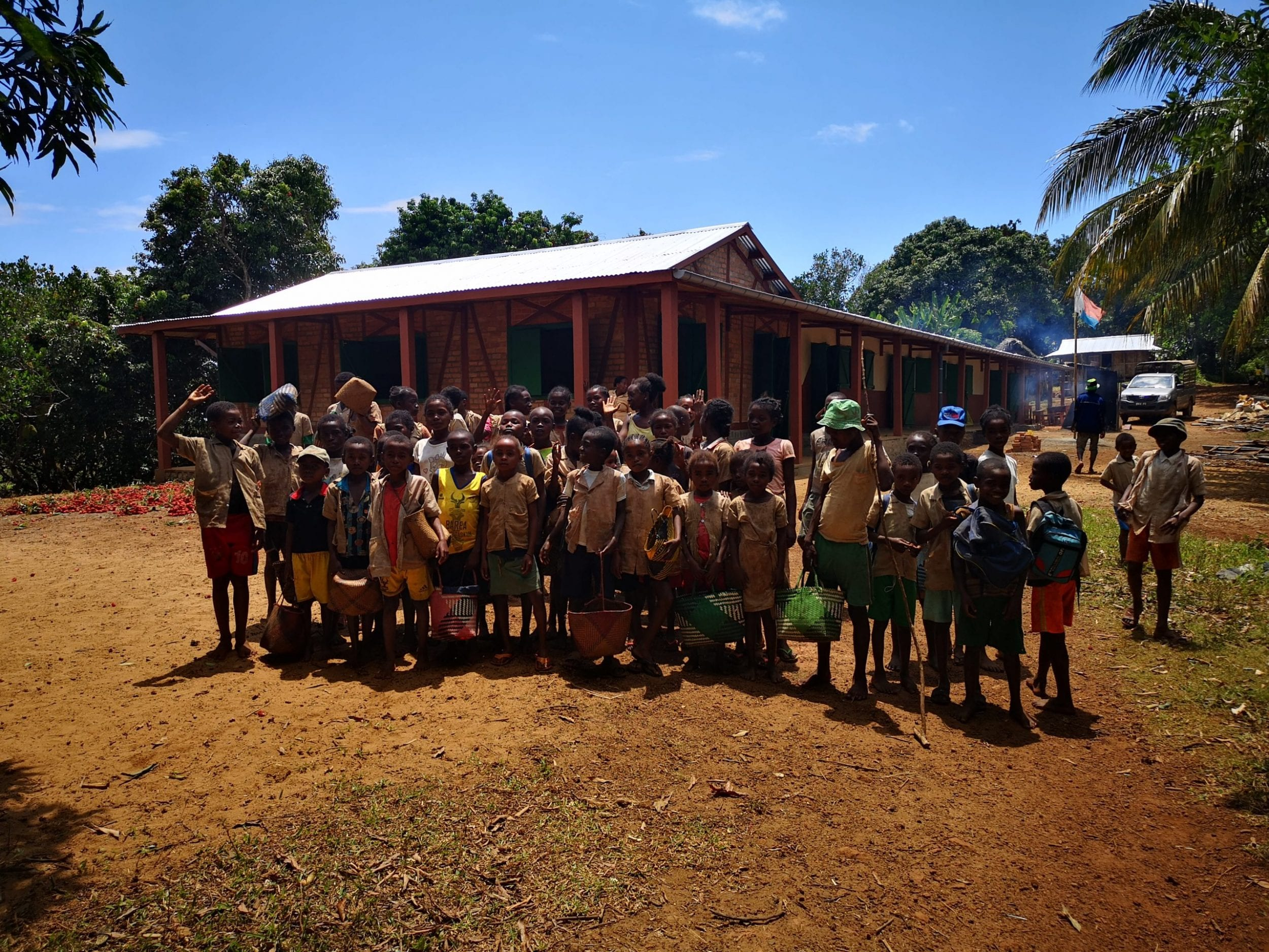 The newly completed Nohona school.