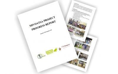 MIVOATSA PROJECT PROGRESS REPORT Sept 19 – Sept 20
